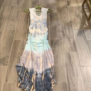 Sky dress size small